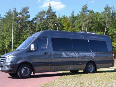Mercedes Sprinter 519 EURO VI 23 osoby, 2014r.
