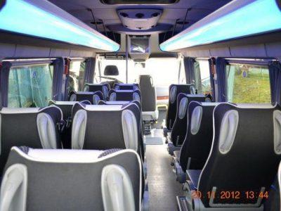 Mercedes Sprinter 519 CDI 20 osób (19 +1+1) - Wynajem Busów Fabisiak Przewozy