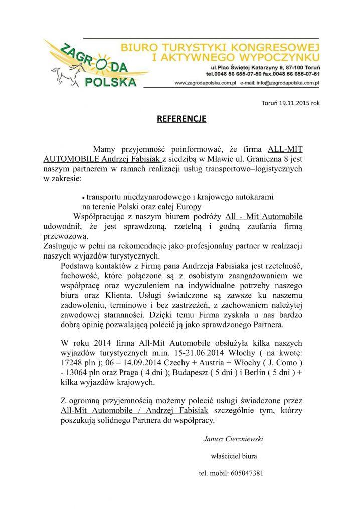 opinie Fabisiak Przewozy