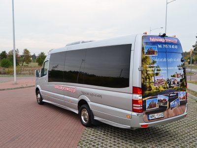 Minibus Mercedes Sprinter 519 EURO 6 Wynajem Minibusów Fabisiak Przewozy