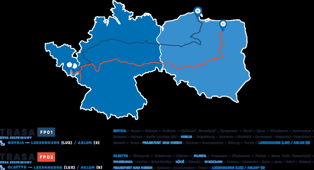 BUSY do Belgii, Niemiec i Luxembourga